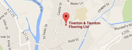Directions to Tiverton & Taunton Flooring